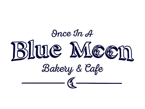 Once in a Blue Moon Bakery and Cafe Logo