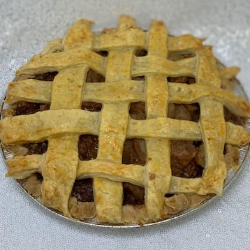 Apple Pie With Lattice Crust Once In A Blue Moon Bakery